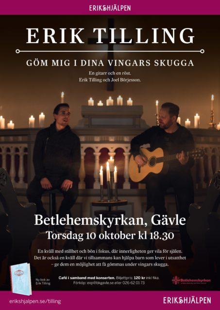 Erik Tilling kommer till Gävle