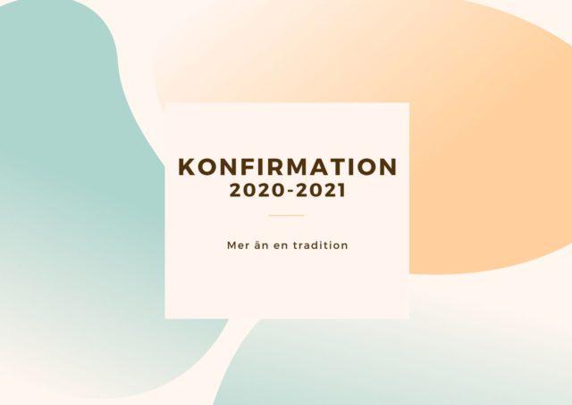 Konfirmation 2020-2021